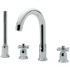 Faro 4 Hole Bath Shower Mixer